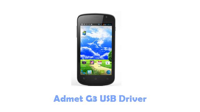 Admet G3 USB Driver