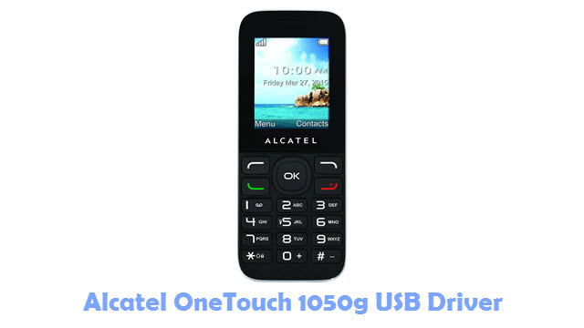 Download Alcatel OneTouch 1050g USB Driver