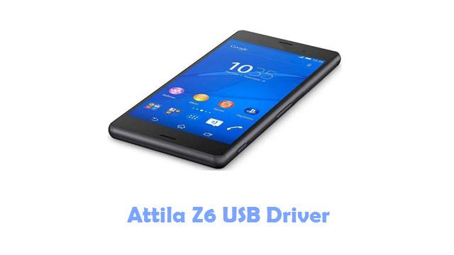 Attila Z6 USB Driver