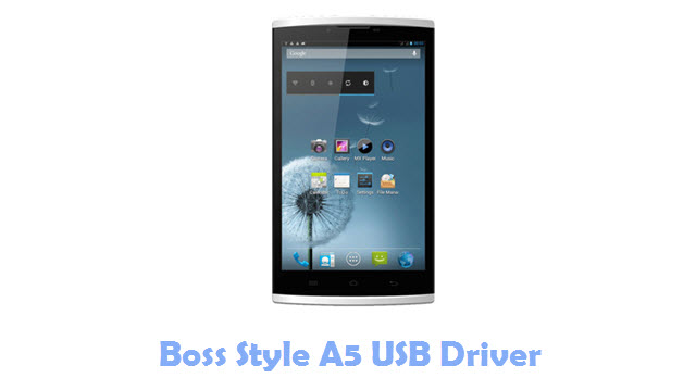 Boss Style A5 USB Driver