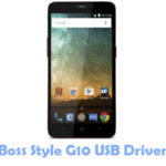 Download Boss Style G10 USB Driver