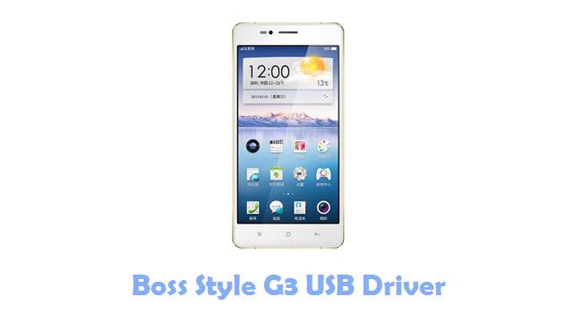 Boss Style G3 USB Driver