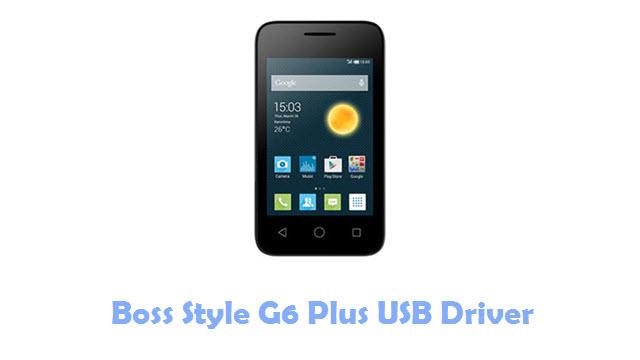 Boss Style G6 Plus USB Driver