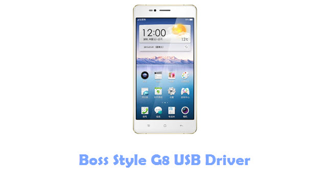 Download Boss Style G8 USB Driver