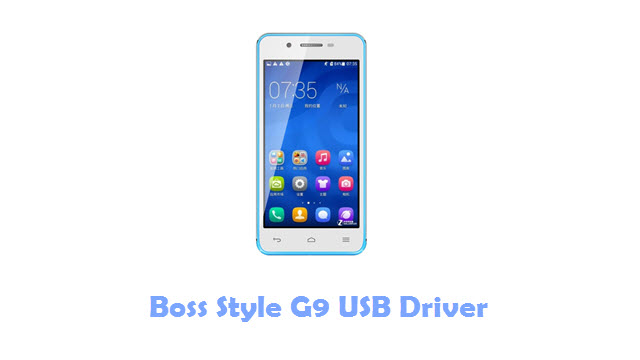 Download Boss Style G9 USB Driver