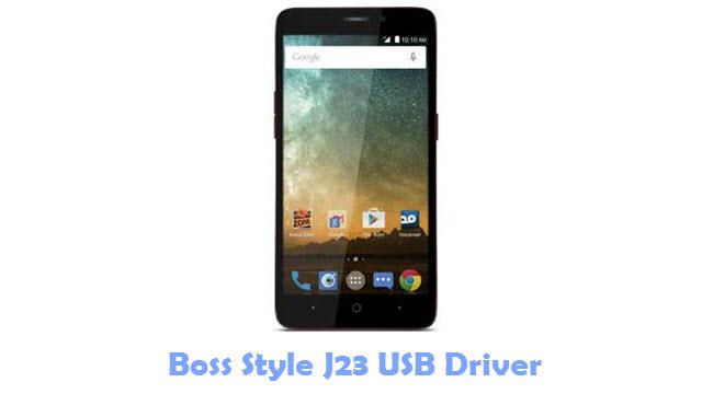 Boss Style J23 USB Driver