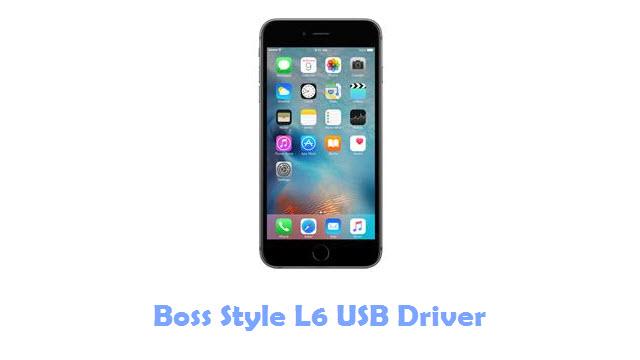 Boss Style L6 USB Driver