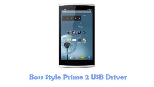 Boss Style Prime 2 USB Driver
