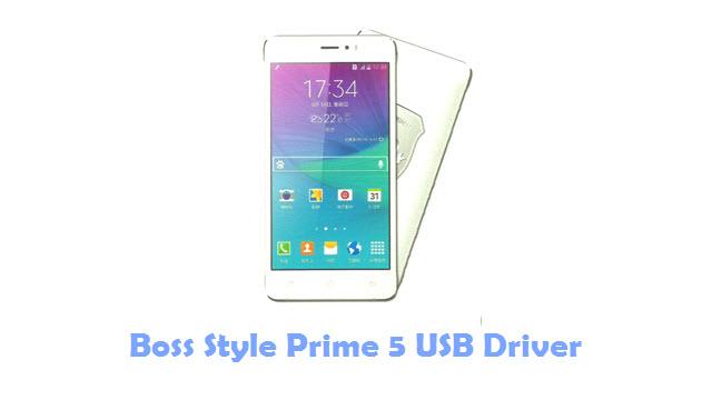 Boss Style Prime 5 USB Driver