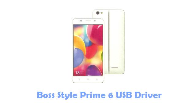 Boss Style Prime 6 USB Driver