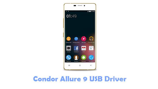 Download Condor Allure 9 USB Driver