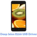 Download Dexp Ixion E250 USB Driver