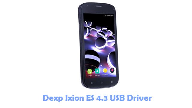 Dexp Ixion ES 4.3 USB Driver