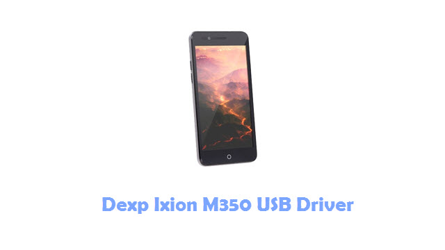 Dexp Ixion M350 USB Driver