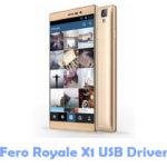 Download Fero Royale X1 USB Driver