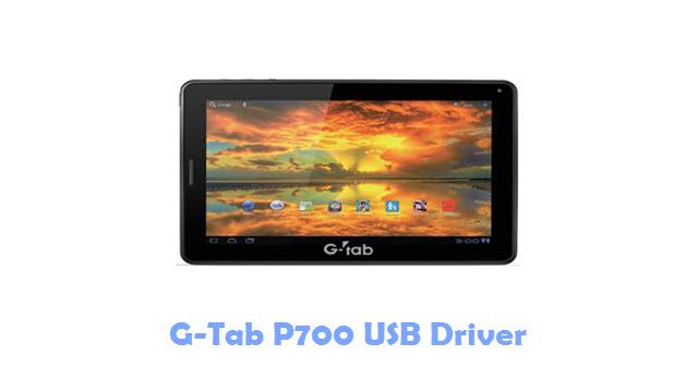 G-Tab P700 USB Driver