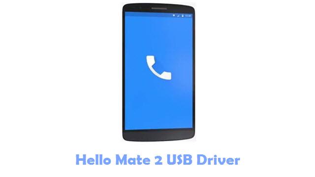 Hello Mate 2 USB Driver