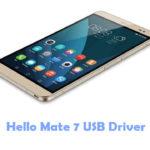 Download Hello Mate 7 USB Driver