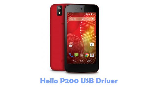 Download Hello P200 USB Driver