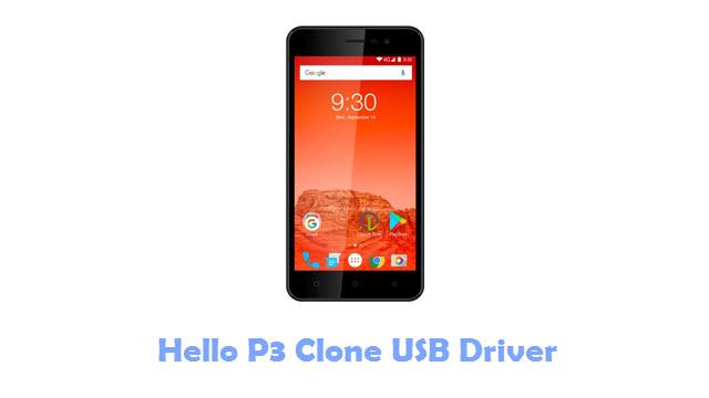 Download Hello P3 Clone USB Driver