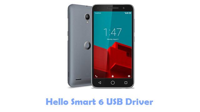 Hello Smart 6 USB Driver
