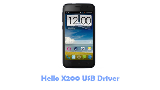 Hello X200 USB Driver