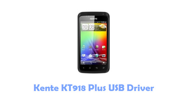 Kente KT918 Plus USB Driver