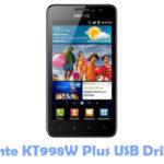 Download Kente KT998W Plus USB Driver