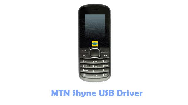Download MTN Shyne USB Driver