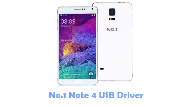 No.1 Note 4 USB Driver