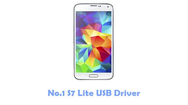No.1 S7 Lite USB Driver