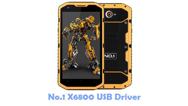 Download No.1 X6800 USB Driver