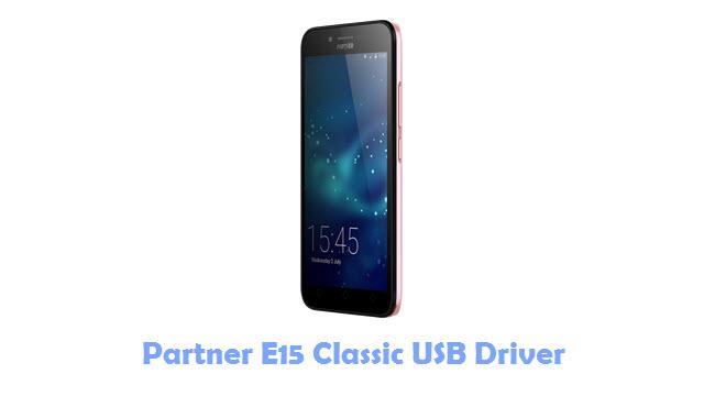 Download Partner E15 Classic USB Driver