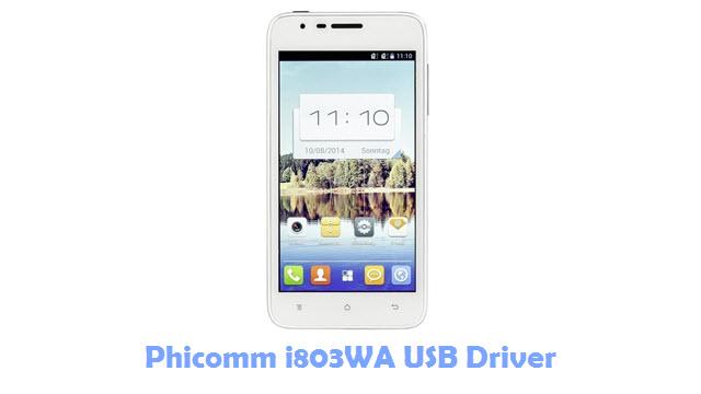 Download Phicomm i803WA USB Driver