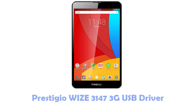 Download Prestigio WIZE 3147 3G USB Driver