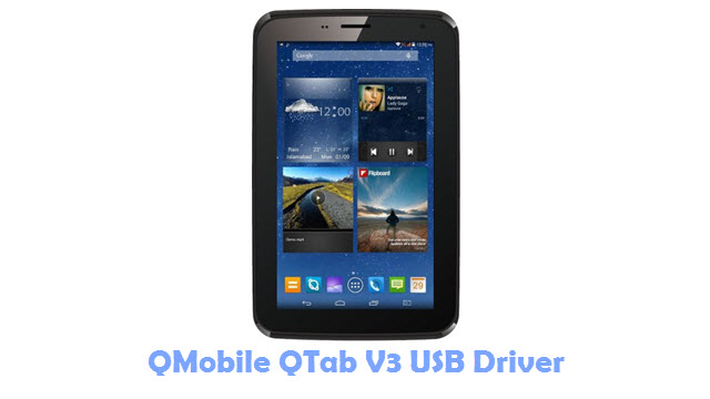 Download QMobile QTab V3 USB Driver