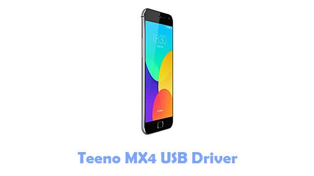 Download Teeno MX4 USB Driver