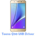 Download Teeno Q30 USB Driver
