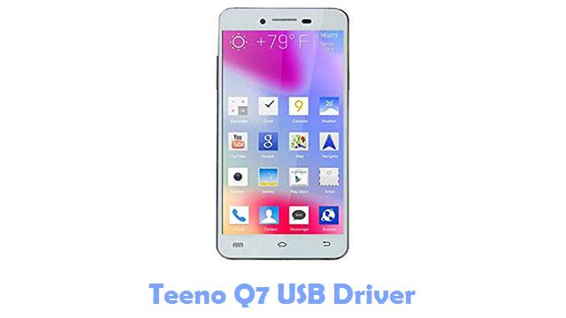 Download Teeno Q7 USB Driver