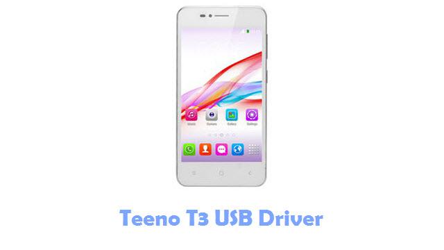 Teeno T3 USB Driver