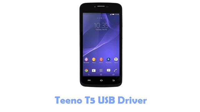 Teeno T5 USB Driver
