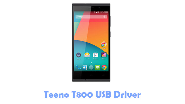 Download Teeno T800 USB Driver