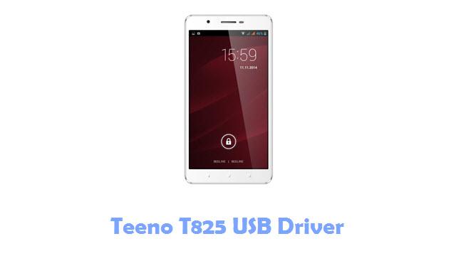 Download Teeno T825 USB Driver