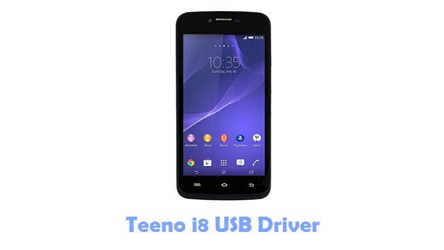 Download Teeno i8 USB Driver