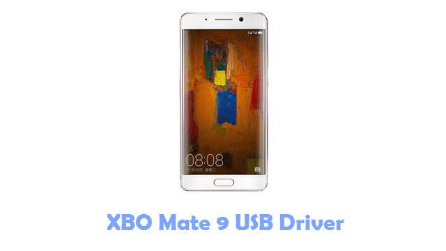 XBO Mate 9 USB Driver