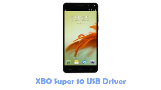 XBO Super 10 USB Driver