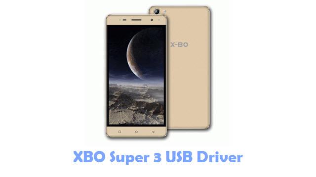XBO Super 3 USB Driver