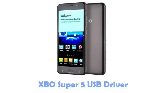 XBO Super 5 USB Driver