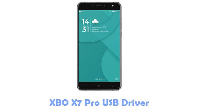 XBO X7 Pro USB Driver