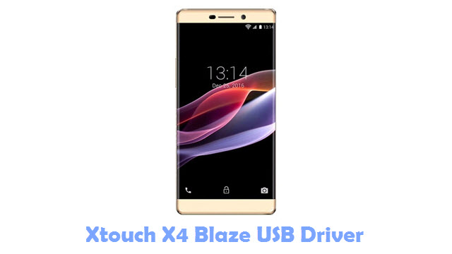Xtouch X4 Blaze USB Driver